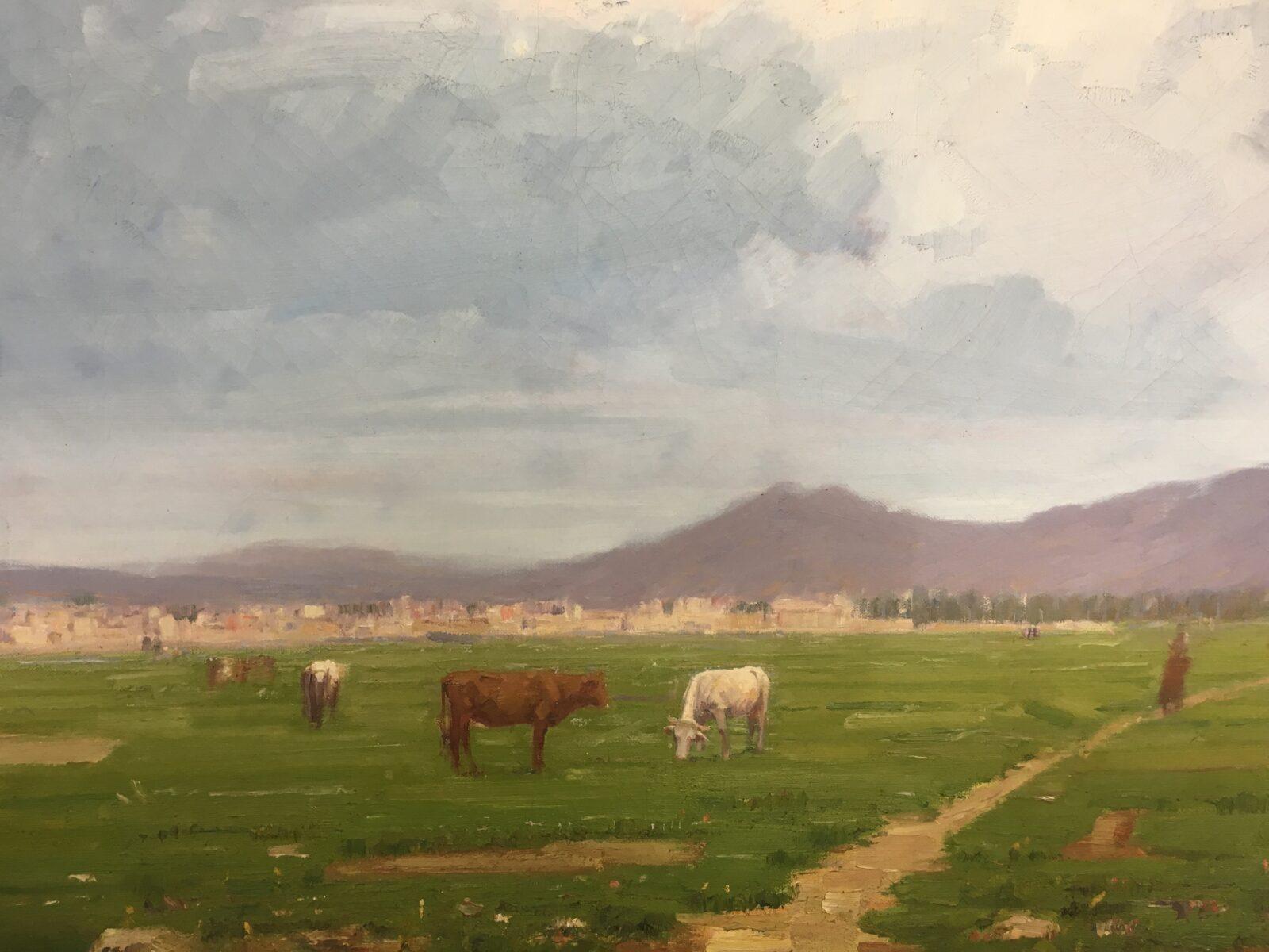 Dipinti di Paesaggi Siciliani